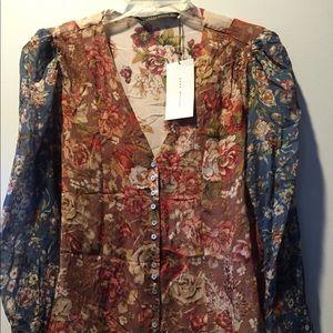 NWT Zara women blouse
